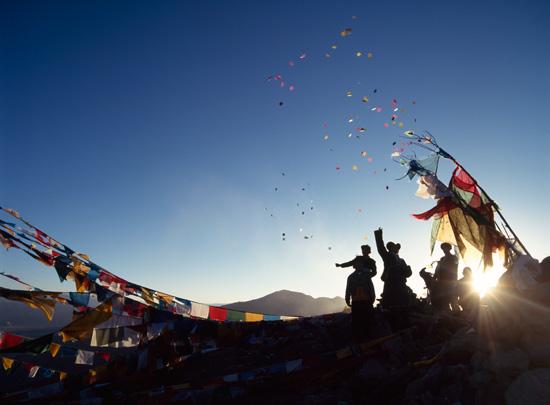 Tibetan windhorse