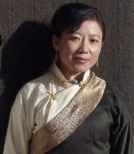 Tsering Woeser portrait