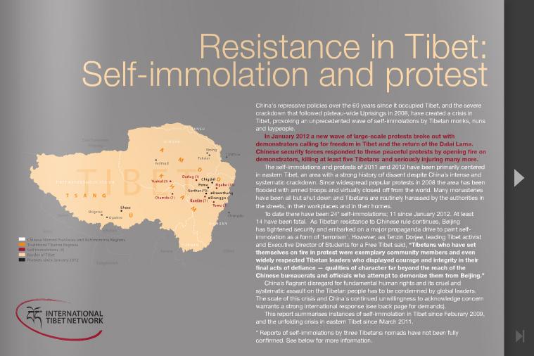 resistance in tibet
